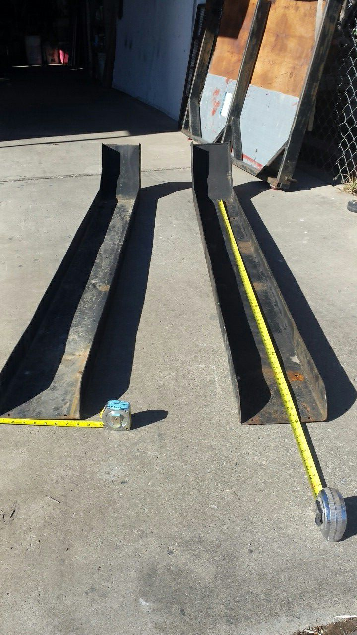 Ramps,,,,,& Or make fenders for small trailer