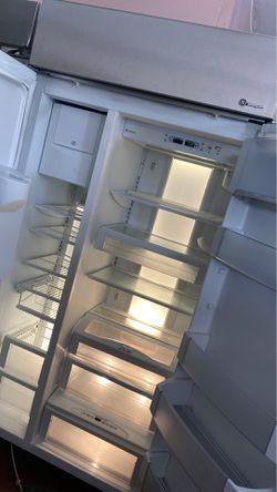 "GE monagram 42"" built in refrigerator stainless steel Thumbnail"