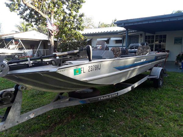 Bass tracker tx 17 aluminum bass boat