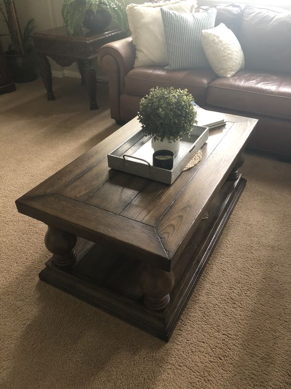 Pottery Barn Lorraine Coffee Table New Retail