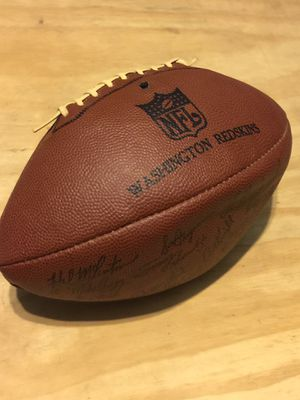 Washington Redskins Signed Football. Hall of Famer Signature for Sale in Jefferson, MD