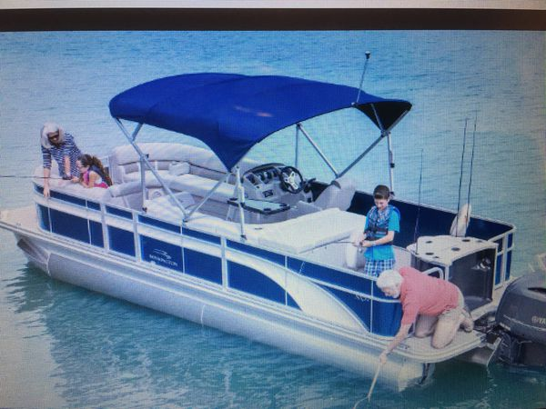 Bimini cover for Bennington model 21 SLX for Sale in Gainesville, GA -  OfferUp