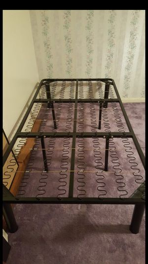 Twin size metal bed frame for Sale in Clifton, VA