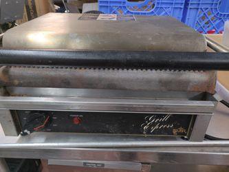 Restaurant commerical panini grill press Thumbnail