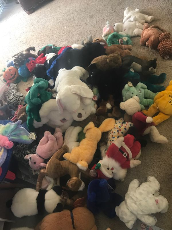 3f8d305377b whole bunch of beanie babies like new very cute great gift for Sale in ...