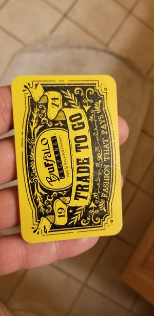 Buffalo exchange store credit trade card $134 for Sale in Worthington, OH