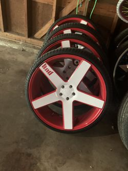 """24"""" Dub Ballers with tires Thumbnail"""
