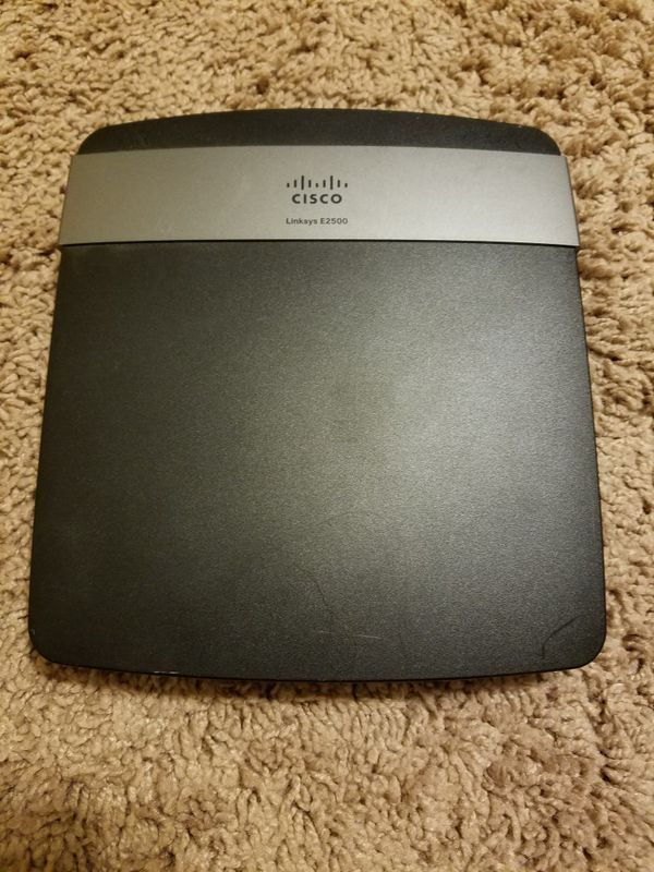 Cisco Linksys E2500 N600 Dual Band WiFi Router for Sale in Arlington, TX -  OfferUp