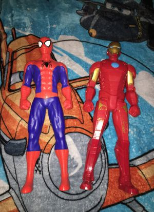Spider-man & Iron Man for Sale in Takoma Park, MD