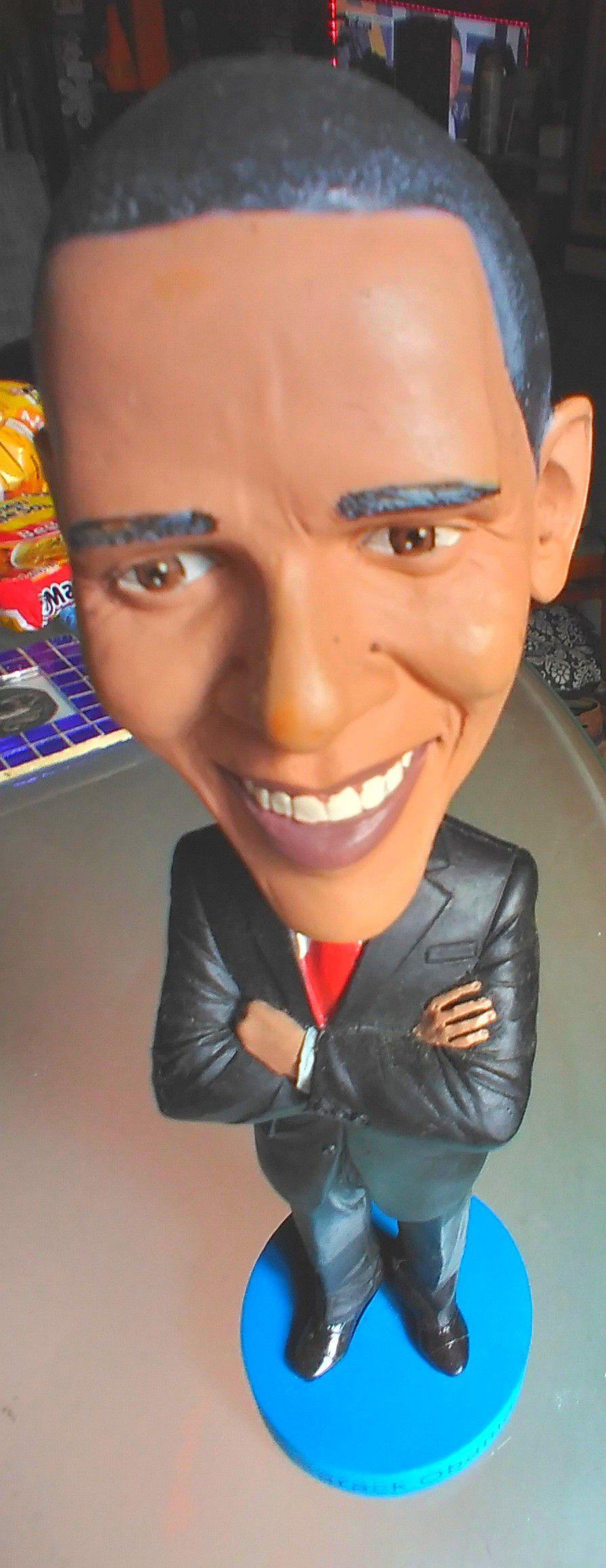 Barrack Obama Large Bobblehead