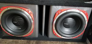 Orion 10 inch subs and amp for Sale in Germantown, MD