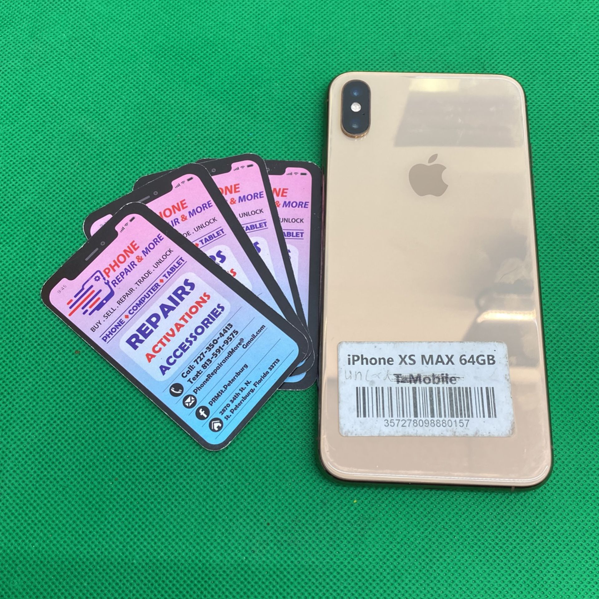 Iphone xs max (64GB,128GB, 256GB) Factory unlock 30 day warranty