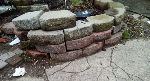 Garden Wall Bricks For Sale In Indianapolis In Offerup
