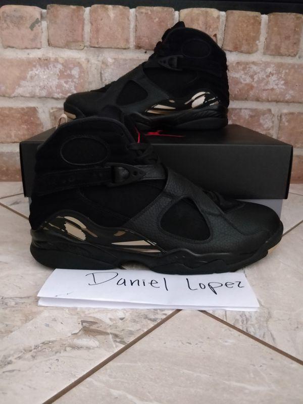 OVO x Air Jordan 8 Retro Black Size 12 AA1239-045 for Sale in ... 4f9e82176