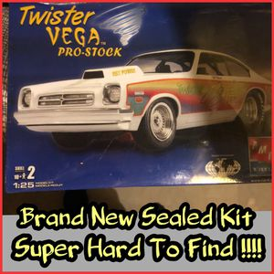 "Photo SUPER RARE "" TWISTER VEGA PRO STOCK "" 1:25 Scale Model Kit ( FACTORY SEALED )"