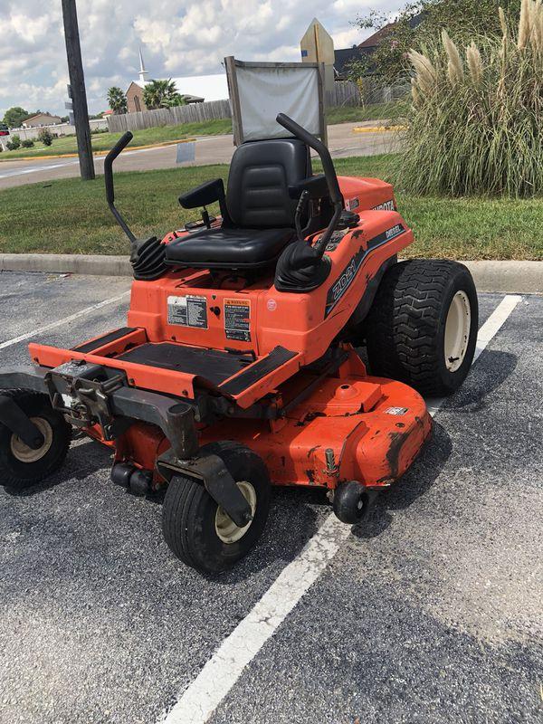 "Kubota diesel zero turn mower 60"" for Sale in Houston, TX - OfferUp"