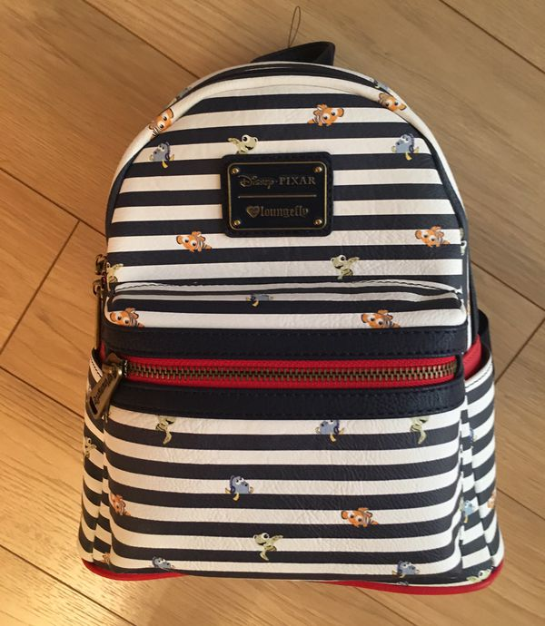 c2869ab6a32 Disney Loungefly mini backpack Nemo exclusive for Sale in Aliso ...