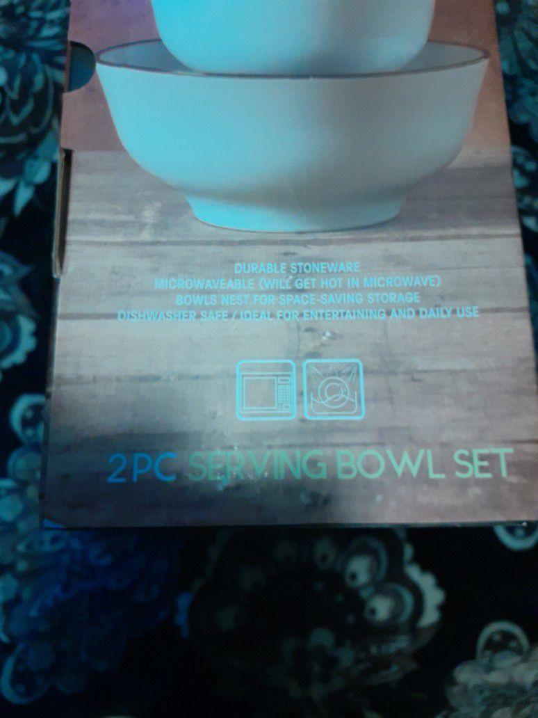 Serving Bowl Set NEW