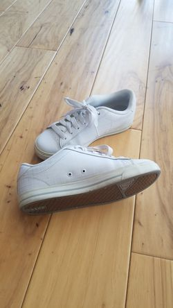 White Roxy sneakers, size 6 Thumbnail