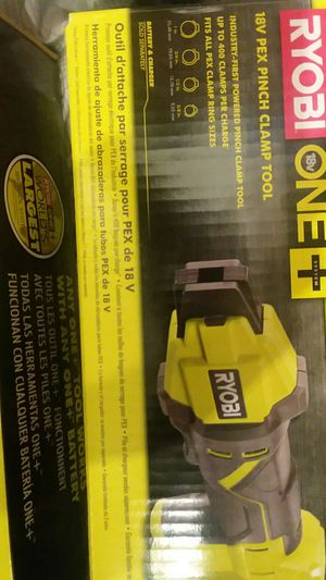 Ryobi crimp ring press tool brand new for Sale in Stanwood, WA - OfferUp