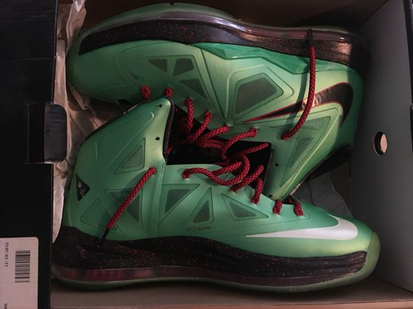 6a362b212c68 Nike LeBron 10s Cutting Jade Size 13 for Sale in Upper Marlboro