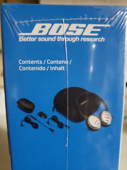 Bose Head Phone Thumbnail