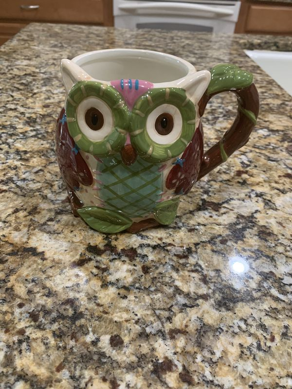 Pier Imports Owl Mug For Sale In Corona Ca Offerup