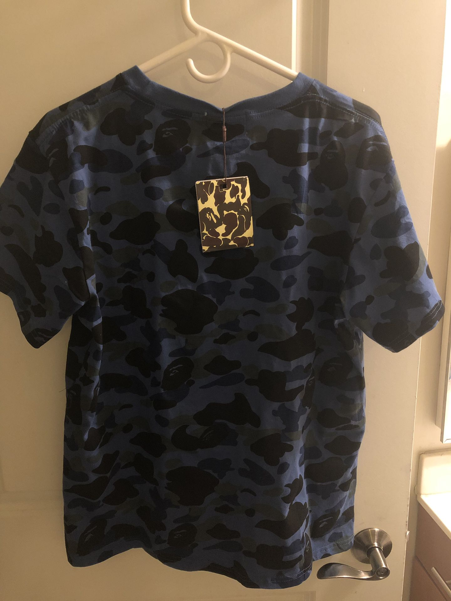 A BATHING APE BLUE CAMO
