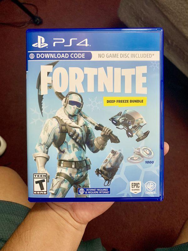 Fortnite Deep Freeze Bundle Ps4 For Sale In Santa Ana Ca Offerup