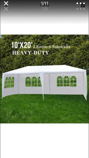 10*20 out side party tent! for Sale in Duluth, GA