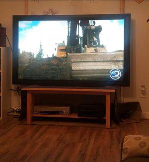 "60""TV w/ soundbar Works Great! No HDMI- Read Description!!! for Sale in Martinsburg, WV"