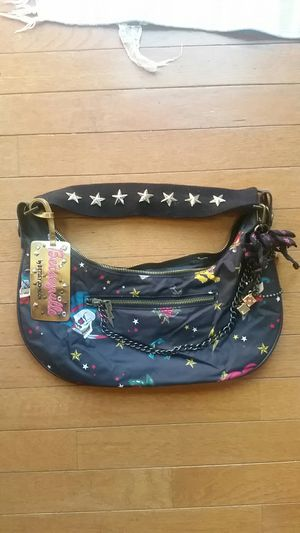 Betsyville Betsy Johnson Tattoo print hobo bag with charms for Sale in Springfield, VA