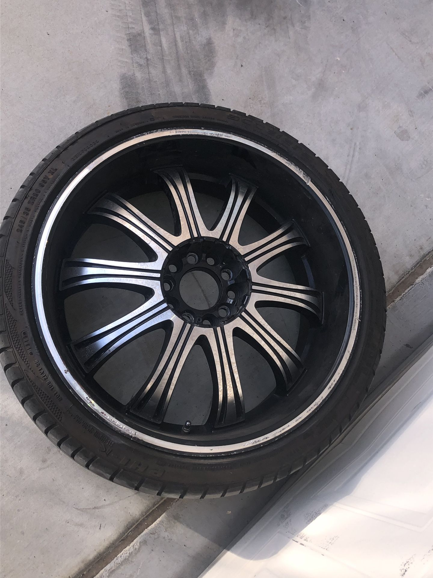 """20"""" Wheel With Rim ( ONLY 1 )"""