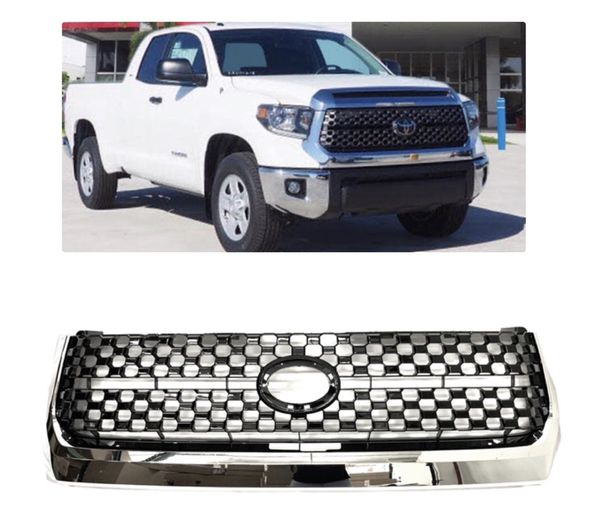 2014 2019 Toyota Tundra Front Grill Grille Chrome 19