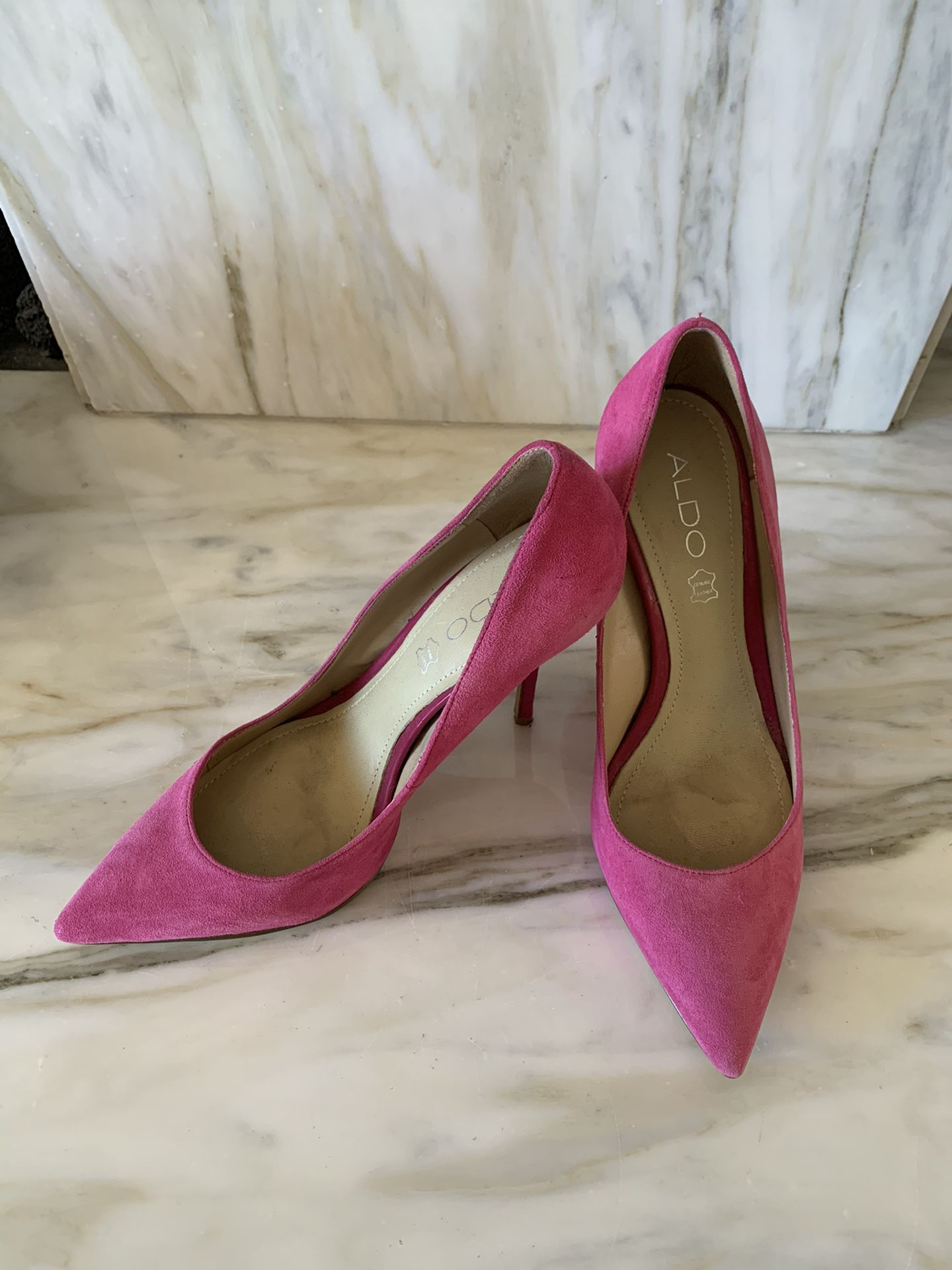 Aldo pumps magenta women's US size 6.5