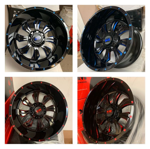 4 New 20x12 Wheels Only For Sale In Houston, TX