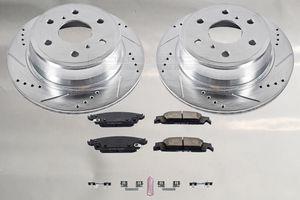 Performance Disc Brake Pad & Drilled/Slotted Rotor Kit, Rear, Escalade ESV Silverado Suburban Tahoe GMC Sierra 1500 Yukon for Sale in El Monte, CA