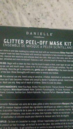 New bath fuzzies and glitter face mask set beauty lot Thumbnail