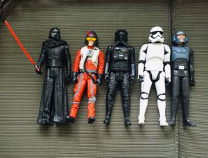 Collectible Star Wars Action Figures — EXCELLENT CONDITION!!! for Sale in Casselberry, FL
