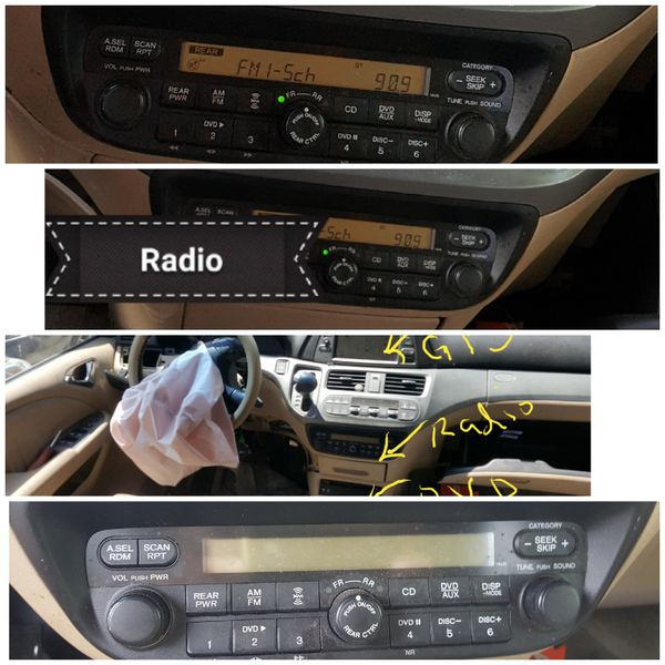 06 Honda Odyssey Oem Stereo For Sale In Houston Tx Offeruprhofferup: Oem Radios In Houston Texas At Gmaili.net
