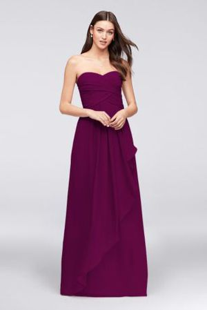 David's Bridal Strapless Bridesmaid Dress Size 4 for Sale in San Diego, CA