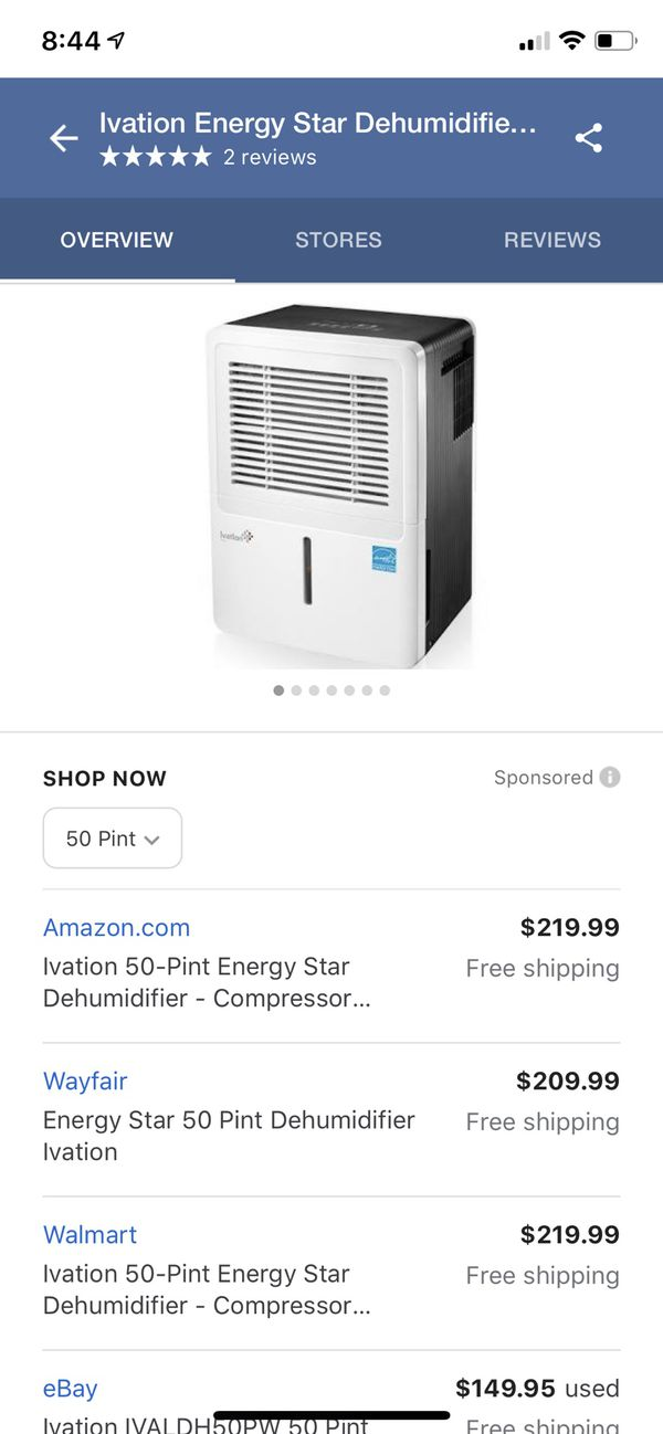 New and Used Dehumidifier for Sale in Lynnwood, WA - OfferUp