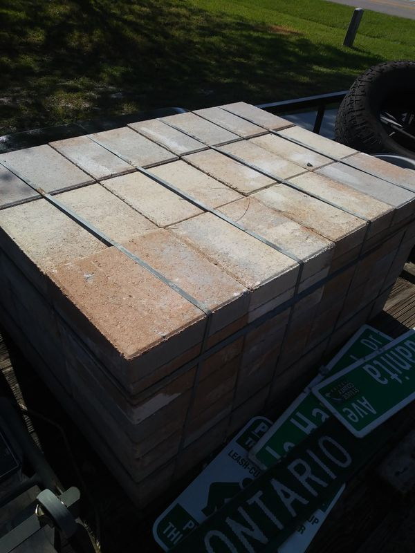 110 Sq Ft Of 12 Quot X12 Quot Left Over Pavers 3 Per Sq Ft