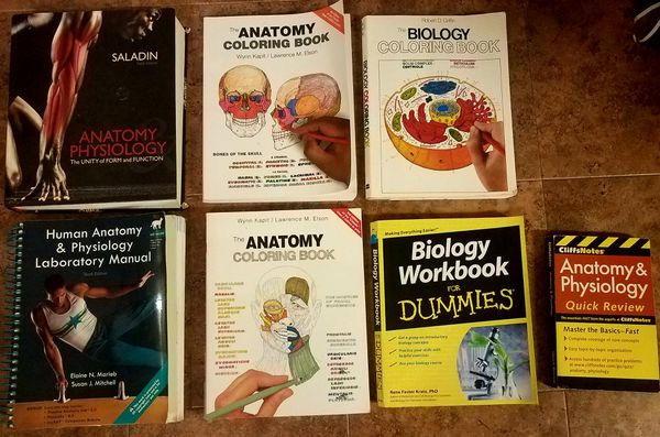 Anatomy/Physiology/Biology books for Sale in Lawrenceburg, KY - OfferUp