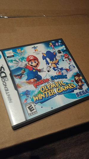 Mario & Sonic at the Olympic Games - Nintendo DS/DSi for Sale in Washington, DC