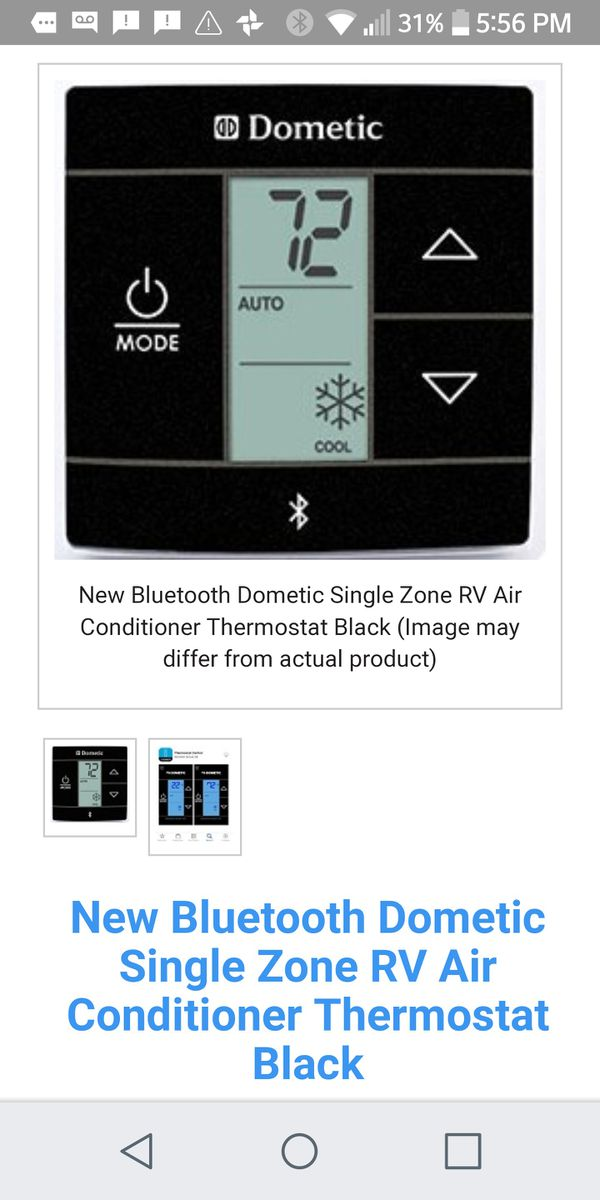 Rv Bluetooth Thermostat - Best Picture Of Blue