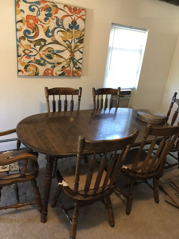 Dining Room Table And Hutch For Sale In Windsor CT