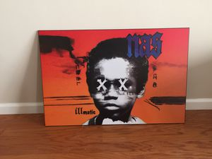 Nas - Illmatic 20th Anniversary Wall Art for Sale in Los Angeles, CA
