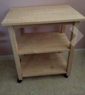 New!! Microwave cart, kitchen storage cart, rolling kitchen cart, kitchen island for Sale in Phoenix, AZ