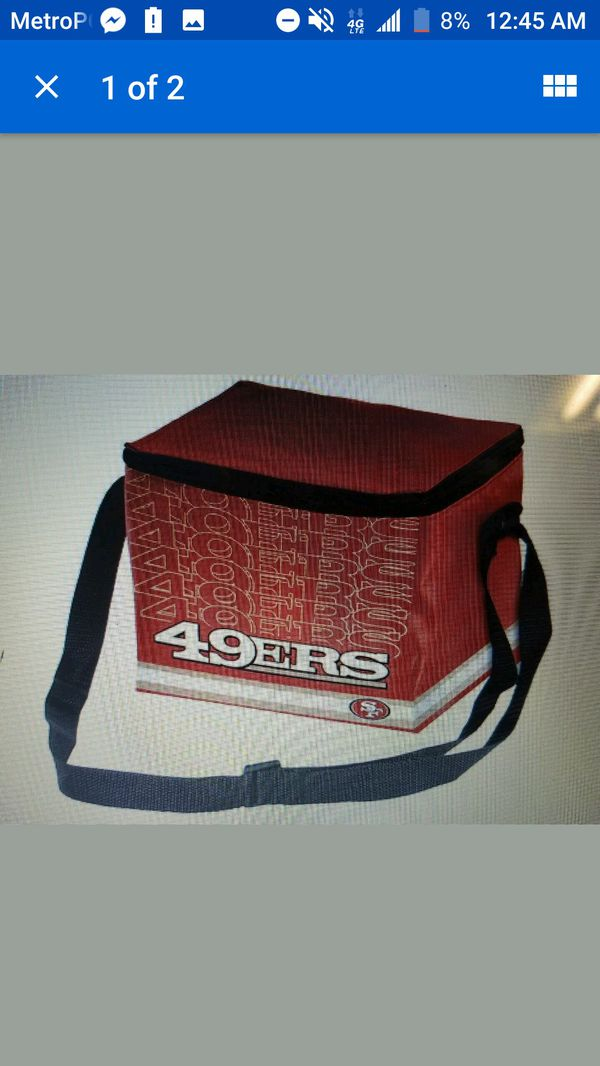 d1dc3d13 NFL San Francisco 49ers Impact Cooler/ Lunch Bag, Red, Brand New for Sale  in Indianapolis, IN - OfferUp